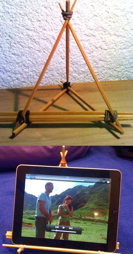 Подставка для планшета своими руками - просто и быстро из картона и других материалов